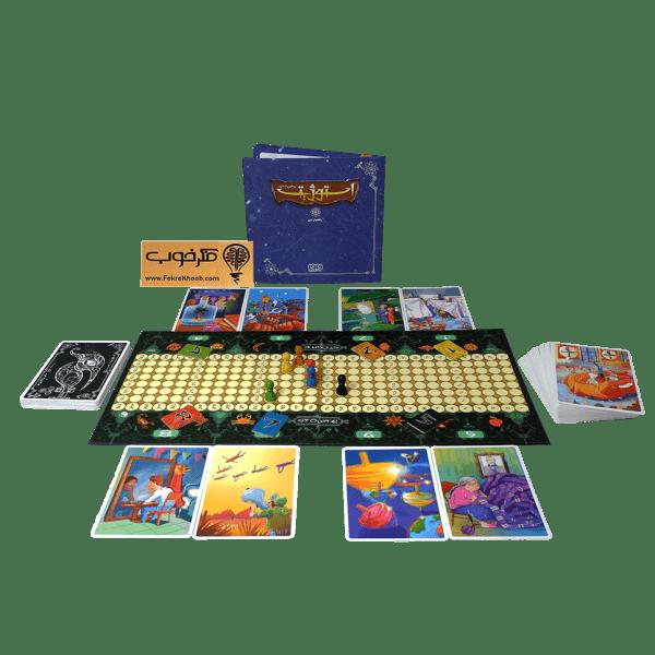 بازی فکری استوژیت - فکرخوب - خانوادگی - دورهمی - مناسب برای بالای 8 سال - 2 تا 8 نفره