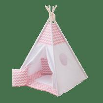 - تصویر زاویه دار چادر - چادر سرخپوستی کودک بالسا - فکرخوب - مناسب برای کودکان - کیفیت عالی - طرح های مختلف