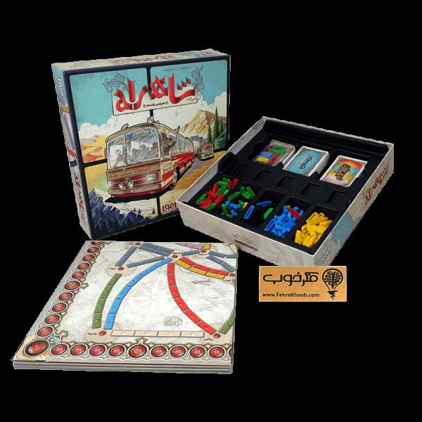 بازی فکری شاهراه (هوپا) - فکرخوب - خانوادگی - استراتژیک - 2 تا 5 نفره -Ticket to Ride