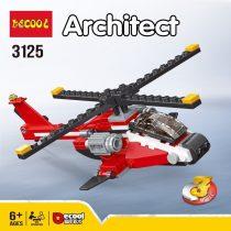 لگو دیکول 3125 هلی کوپتر 3 حالت | lego Decool 3125 Helicopter 3 modes