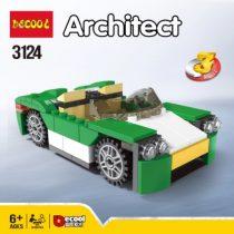 لگو دیکول 3124 ماشین 3 حالت | lego Decool 3124 car 3 modes