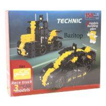 لگو کلیکس مدل ریس تراک 158 قطعه | Lego Clix Race Truck Model 158 pieces